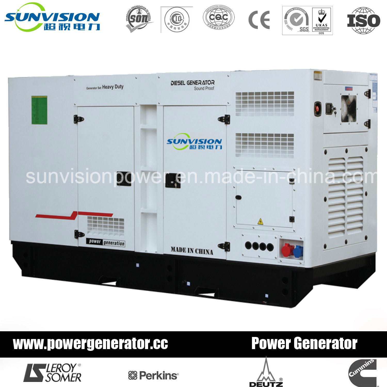 25kVA Super Silent Genset with Perkins Engine (with ISO certificate)