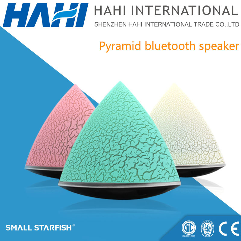 Mini Stereo Sound Wireless Bluetooth USB Speaker with LED (GP-20A)
