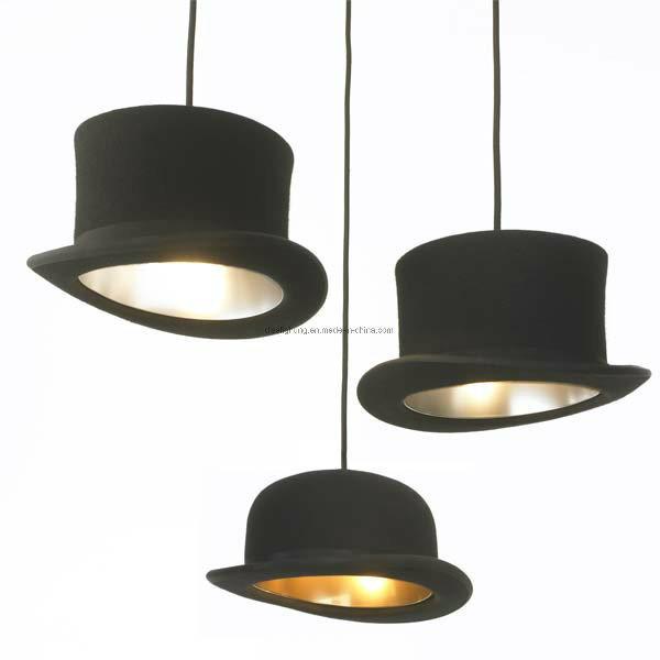 Modern Pendant Light Aluminum Industrial Hat Lamp