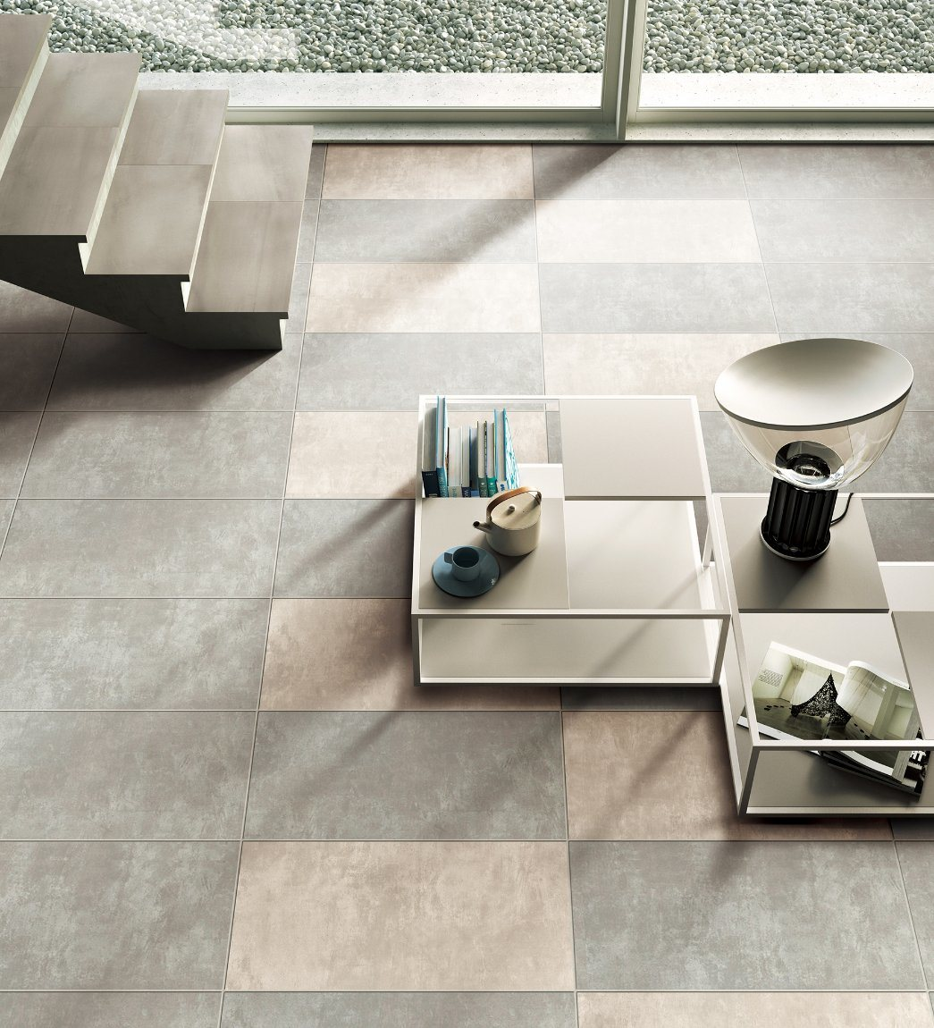 Gaogesi-Series/Cement Look/Hot Sales Matte Finished/Rustic Tile Antique Brick Porcelain Floor Tile