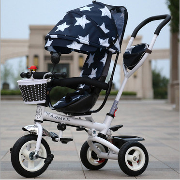 New Baby Trikes Kids Push Tricycle Children Kids Tricycle