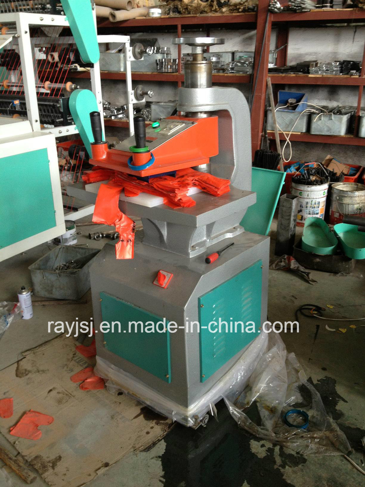 Hydraulic T-Shirt Punching Machine