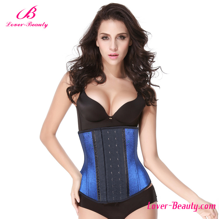 Gilding Blue Strench Waist Trainers