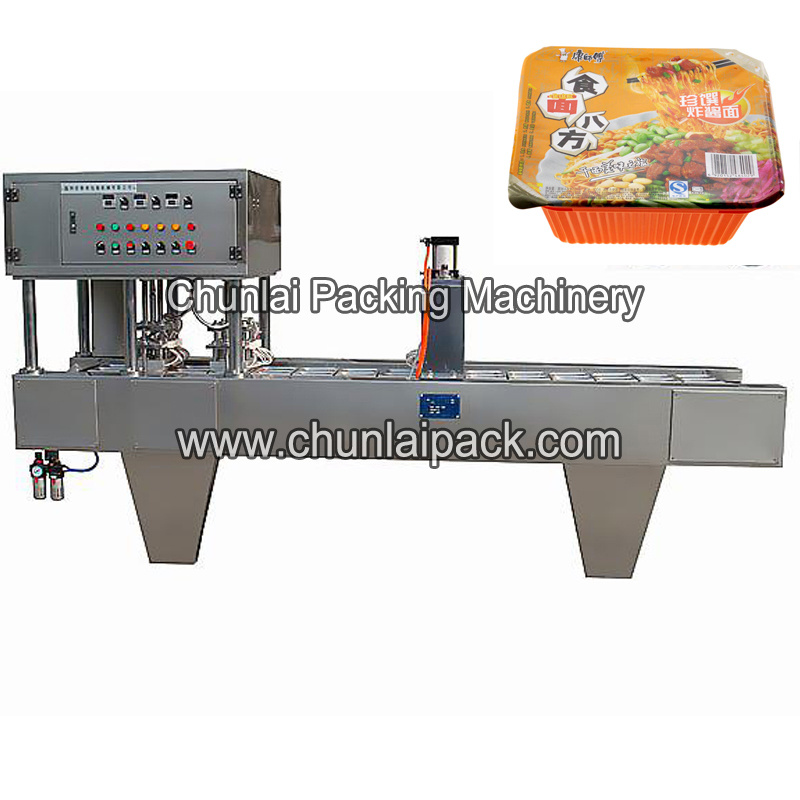 Bg Instant Noodle Tray Sealing Machine