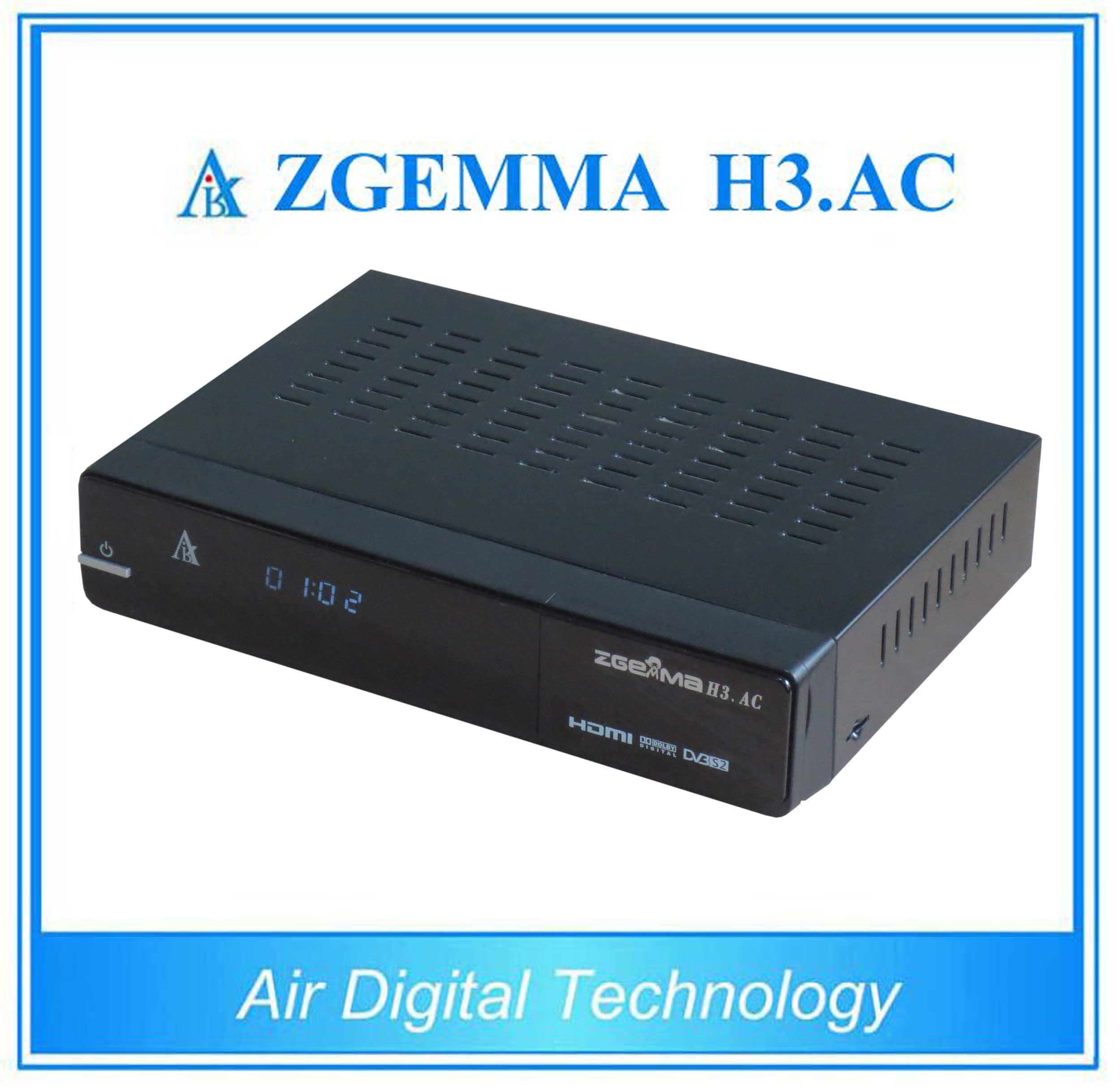 Mexico ATSC and DVB S/S2 Zgemma H3. AC New Product
