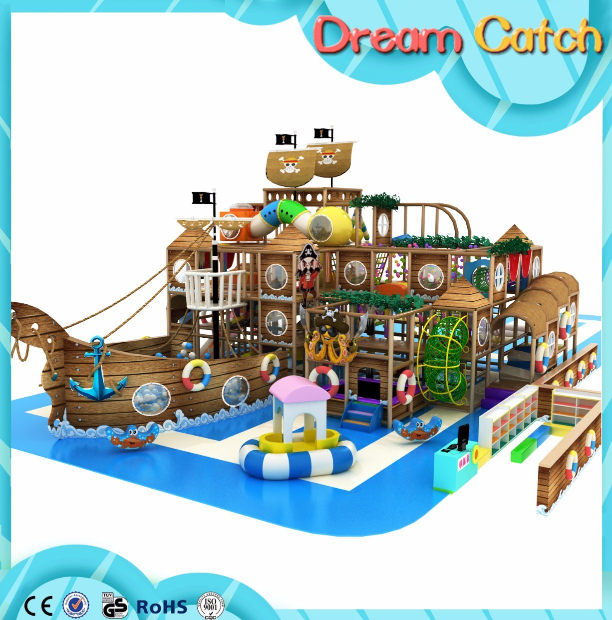 Kids Soft Play Center, Professional Indoor Playground