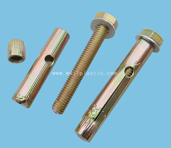 Zinc Anodized Nozzle with Yellow Color