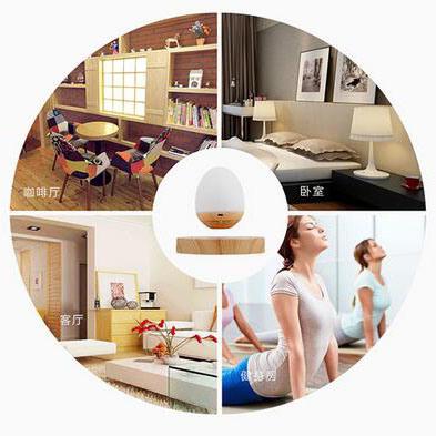 Creative Smart Home Magnetic Levitation Wireless Mini Speaker