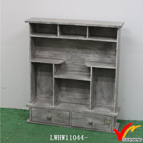 Corner Vintage Old Wooden Kitchen Cabinets Spice Racks