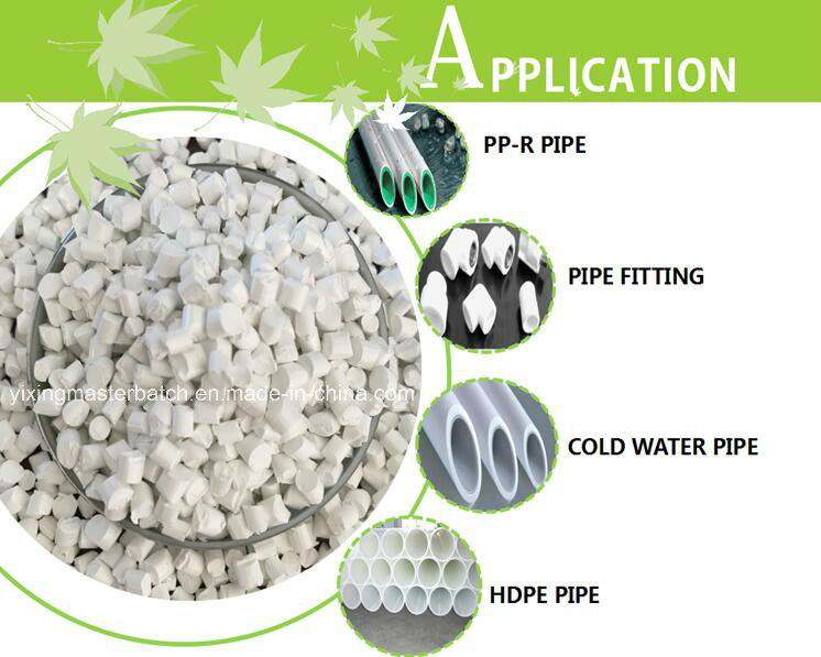 White Masterbatch Used for Plastic Injection Molding