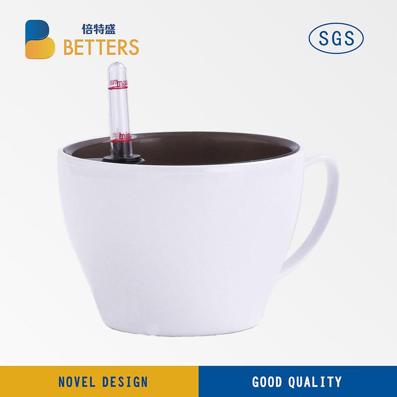 fashion Mini Cup Plastic Flower Garden Decoration Pots002