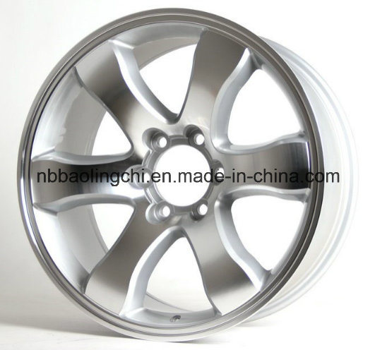 16 Inch 17 Inch 20 Inch Car Aluminum Wheels with PCD 6X139.7 for Toyota