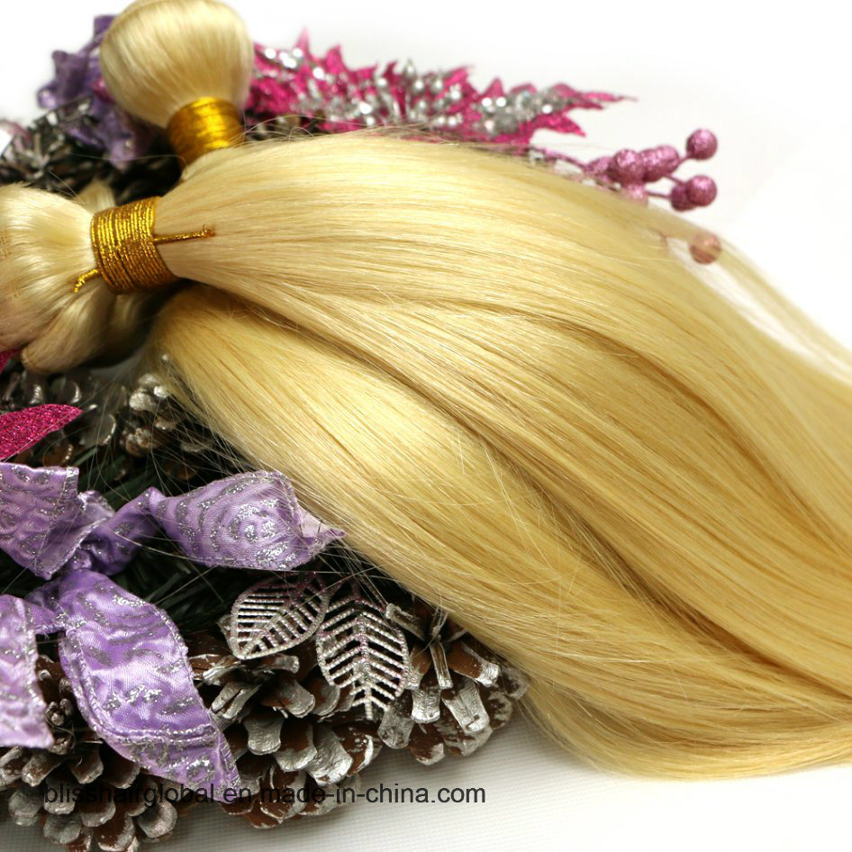 "Bliss Malaysian 613# Straight Hair 12""-24"" 100 Virgin Human Hair 613 Blonde Weave Hair"