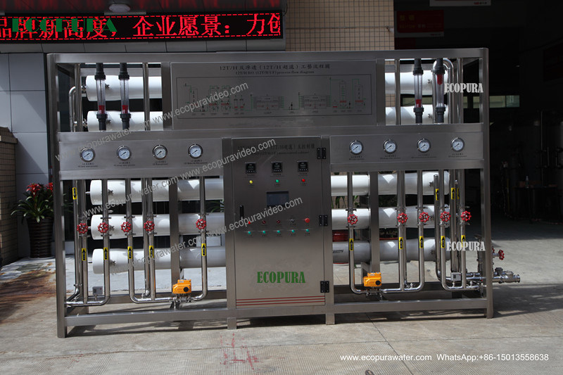 RO Water Treatment Machine / Water Purification Equipment (5000L/H)
