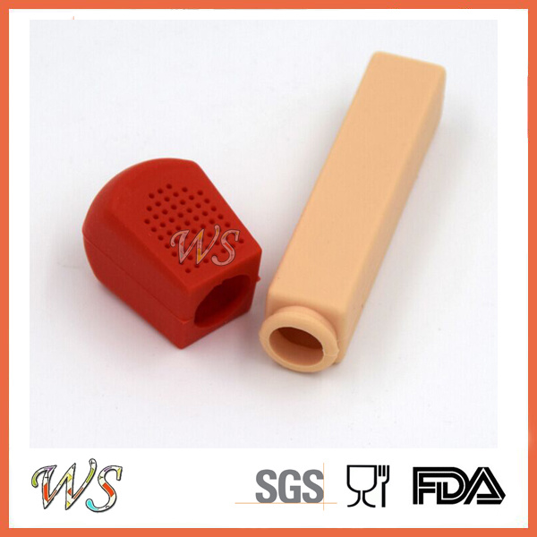 Ws-If060 Food Grade Silicone Match Tea Infuser Leaf Strainer for Mug Cup, Tea Pot