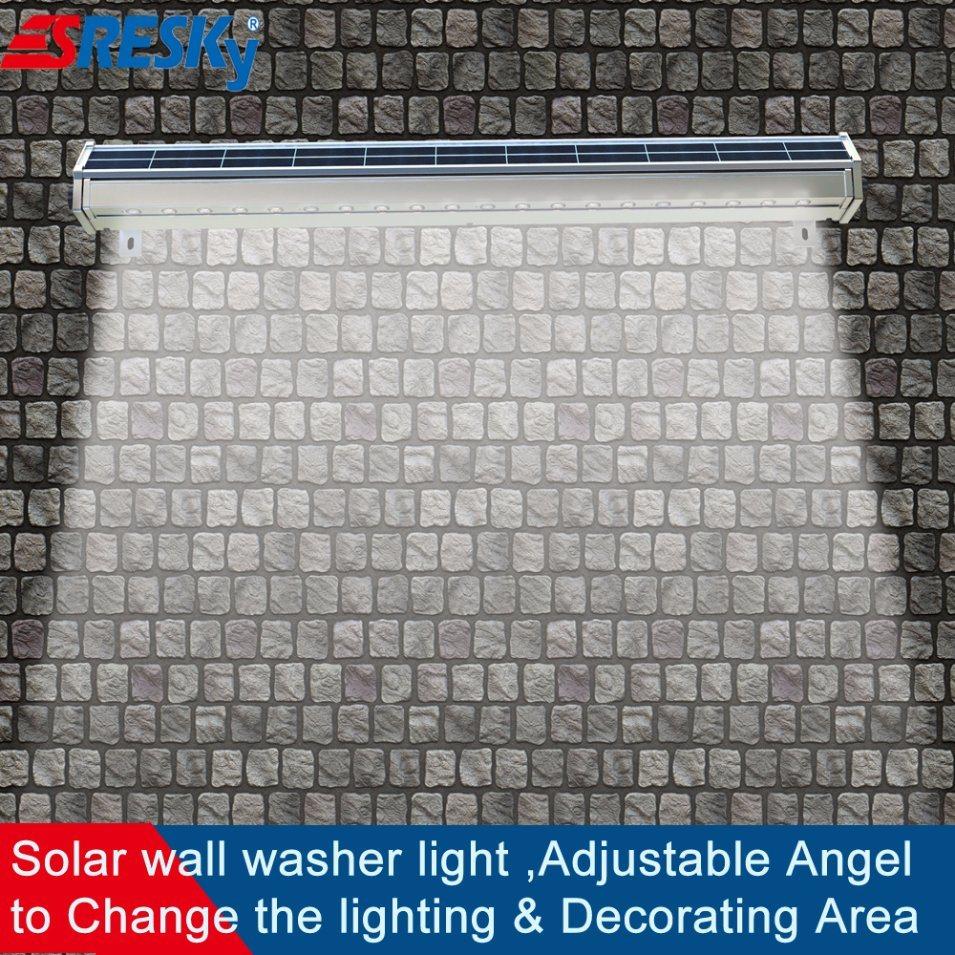 2017 New Solar Outdoor Bridge Lighting Wall Washer Lamp Solar Billboard Light