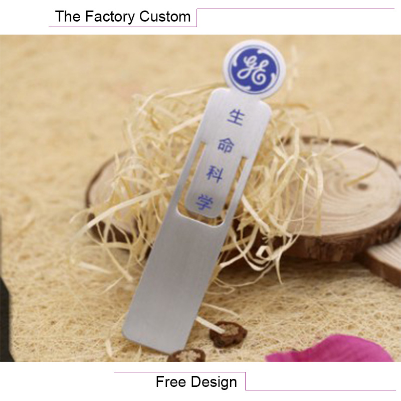 High Quality Stainless Steel Hollow out Bookmarks