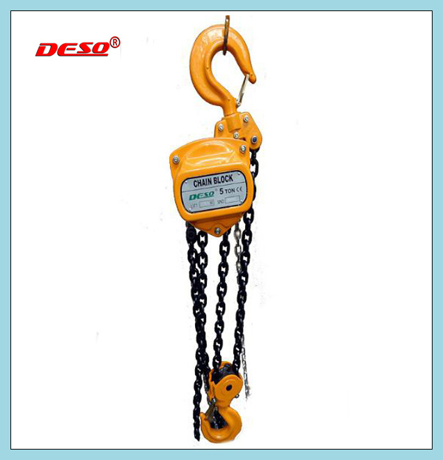 Durable Alloy Steel Chain Block Hoist
