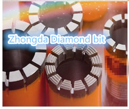 Impregnated Diamond Core Bit D an Dcdma Size Nq, Hq, Pq Core Bit
