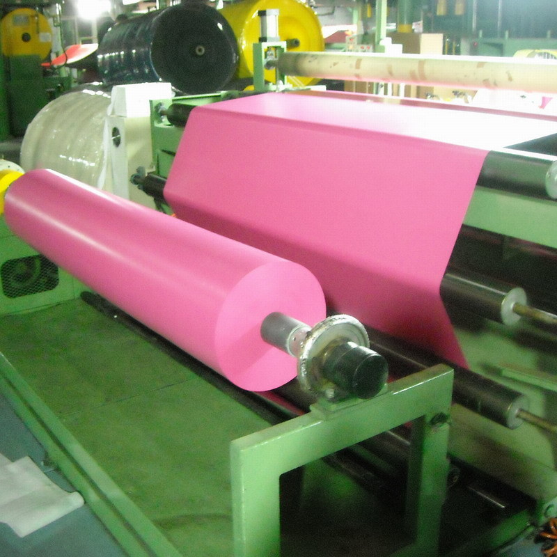 Colored and Printed Vinyl Plastic Film