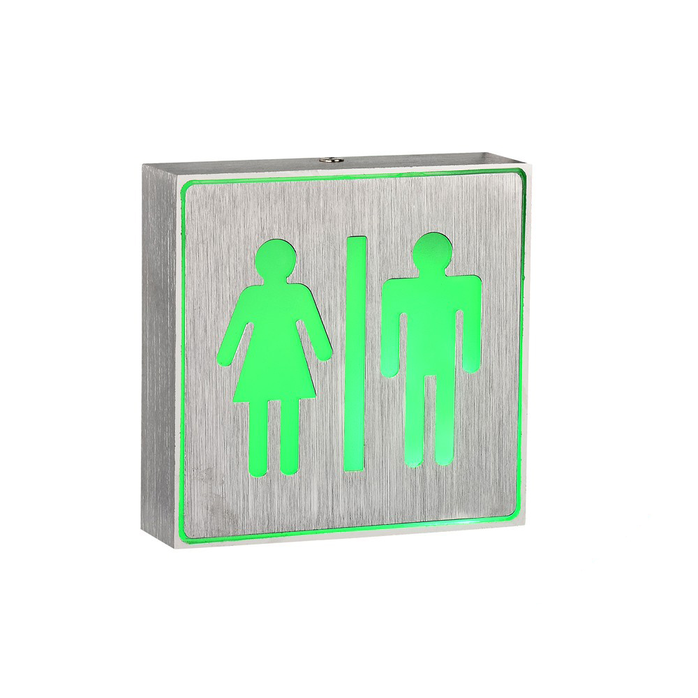 Ingenious Aluminum Exit Emergency Light Box/Small Sign Light