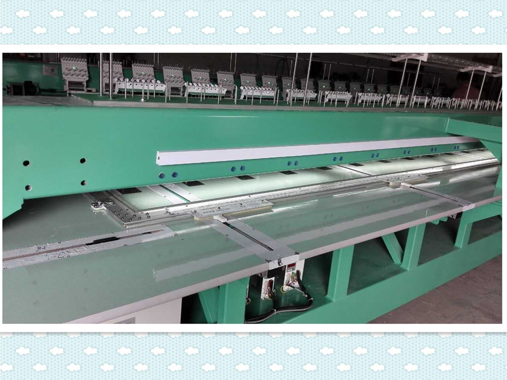 Flat Embroidery Machine for Bangladesh/Turkey/Indonesia with High Quality