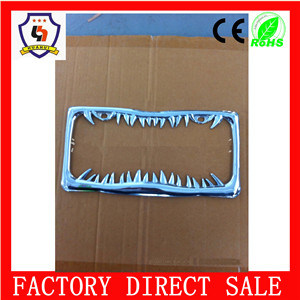 2016 Top Sale Wholesale Best Price Plastic Custom License Plate Frames