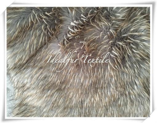 High Pile Jacquard Fake Fur