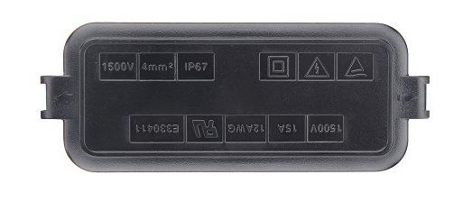 PV-Cy1502-D 1000V 15A TUV/UL Solar /PV/ Waterproof Junction Box\