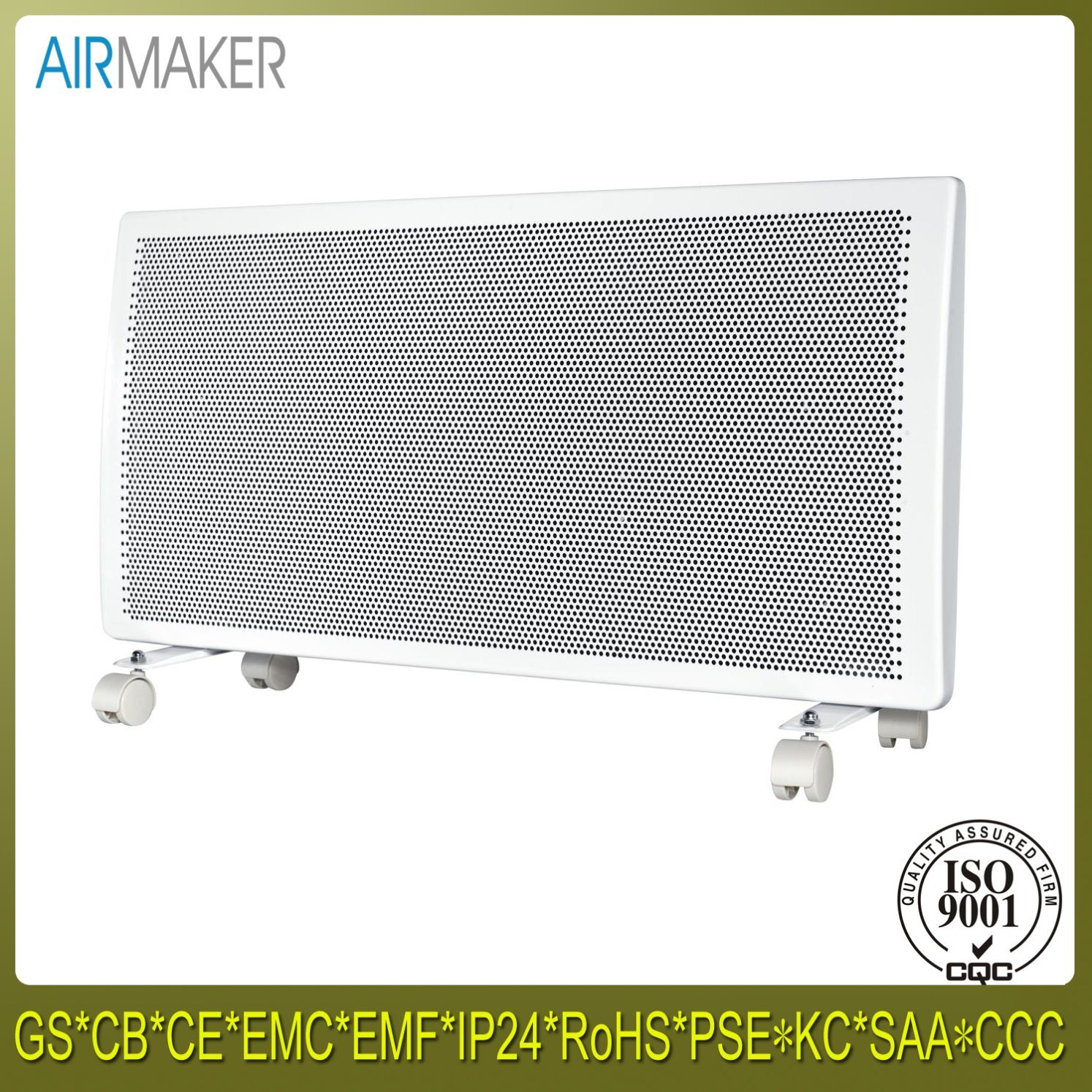 Energy Saving Wall Mounted Outdoor Room Electric Radiant Panel Heater
