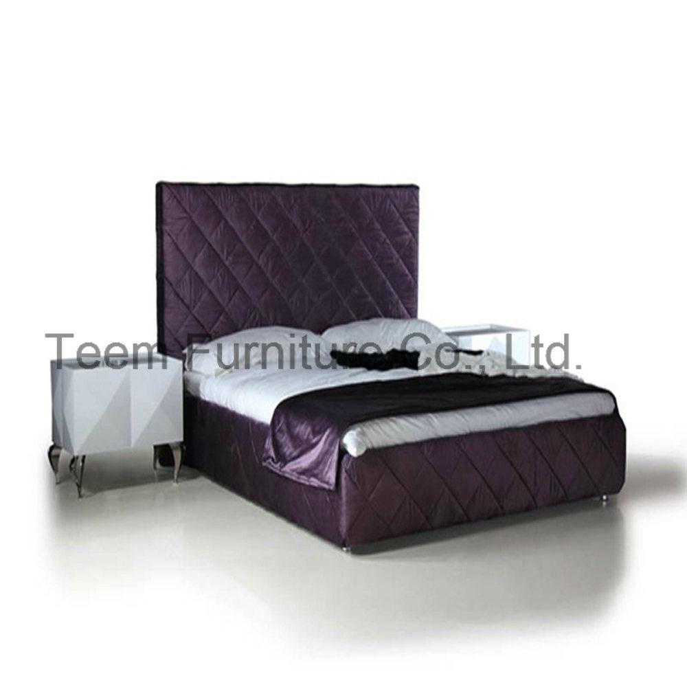 Modern Bed Wood Frame for Bedroom Furniture Bed
