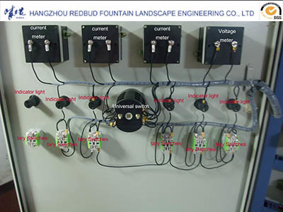Music Fountain Common Control System