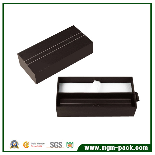 Eco-Friendly Custom Coffee Paper Wrapping Plastic Pen Box for Gift