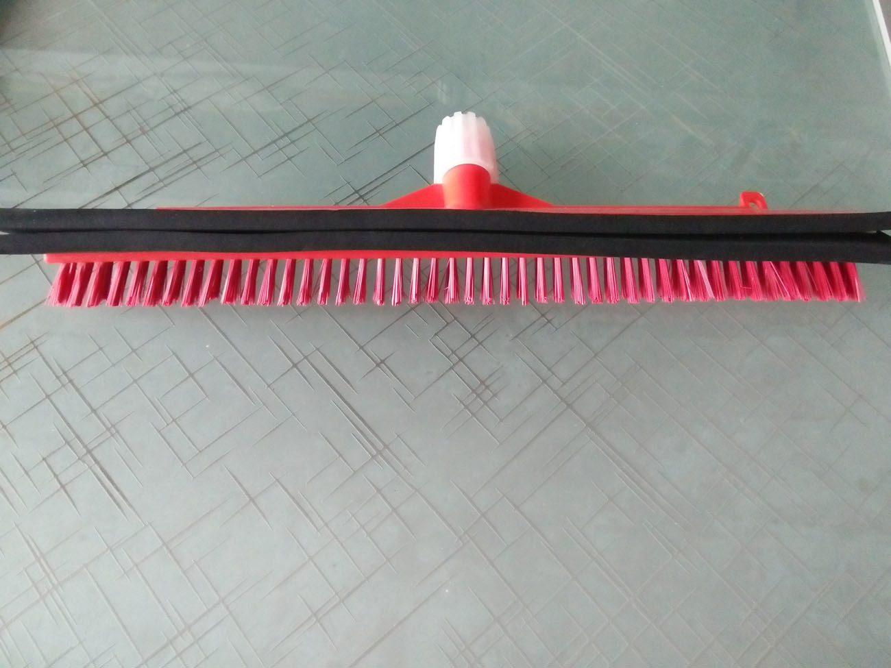 Plastic Broom Foldable Floor Broom with Squeegee