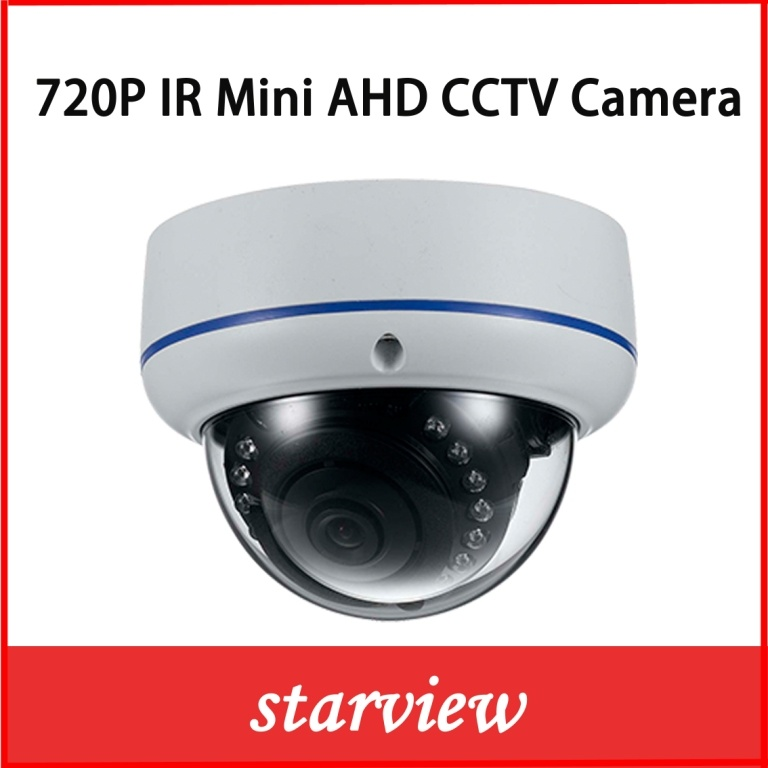 "1/4"" Ov9712 CMOS 720p Ahd IR Mini Dome CCTV Camera"