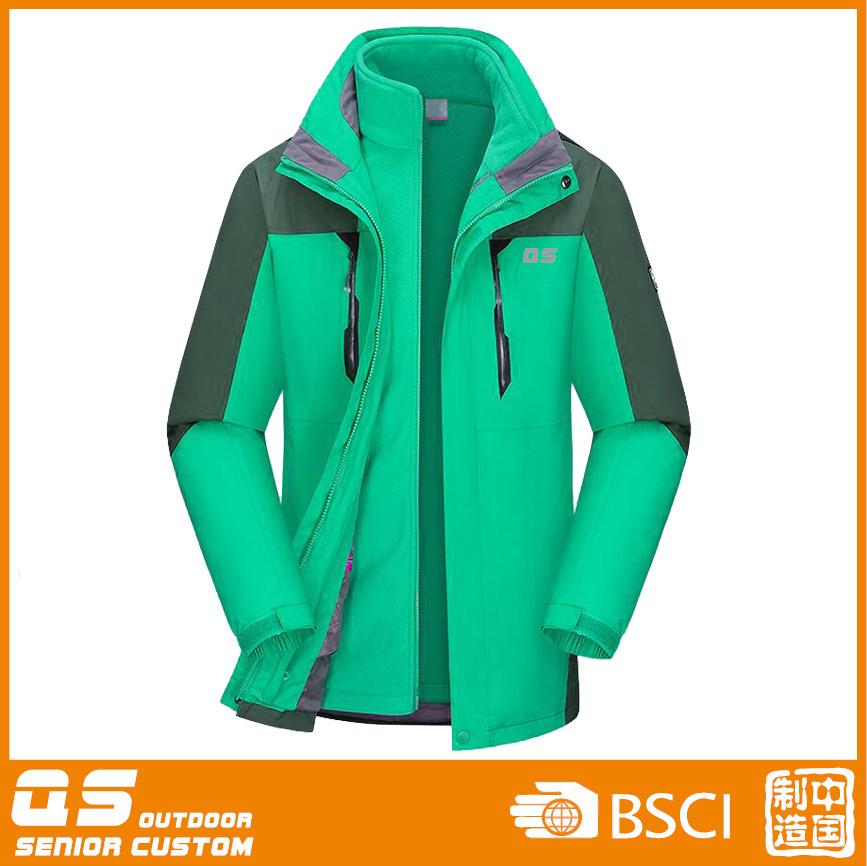 Men′s Fashion 3 in 1 Winter Warm Jacket