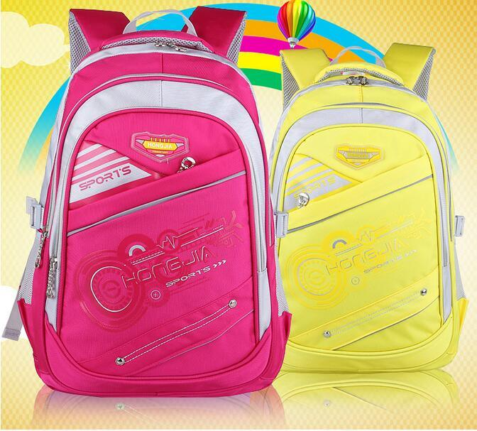 Five Colors Kid′s School Backpack Bags