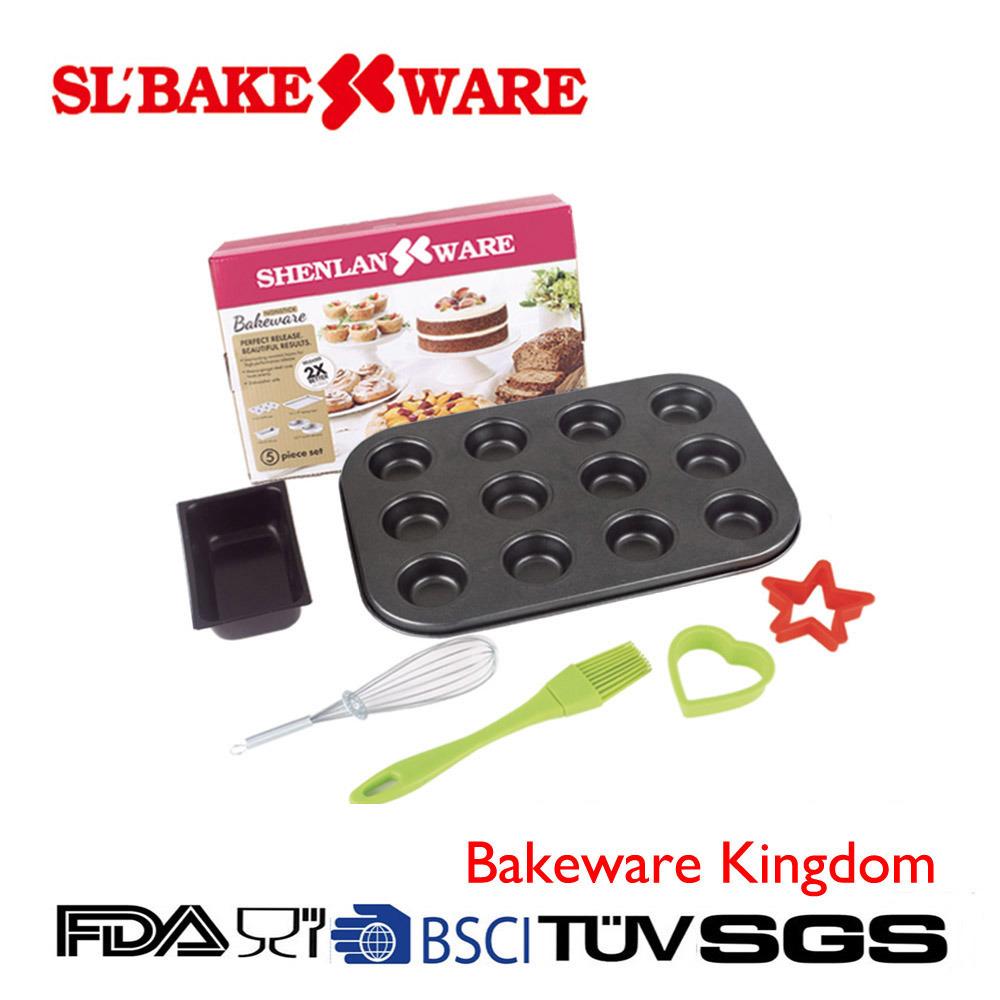 6 PCS Bake Set Carbon Steel Nonstick Bakeware (SL BAKEWARE)