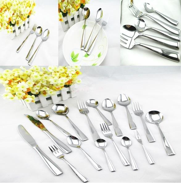 Stainless Steel Tableware Cutlery Flatware Set (QW-112)
