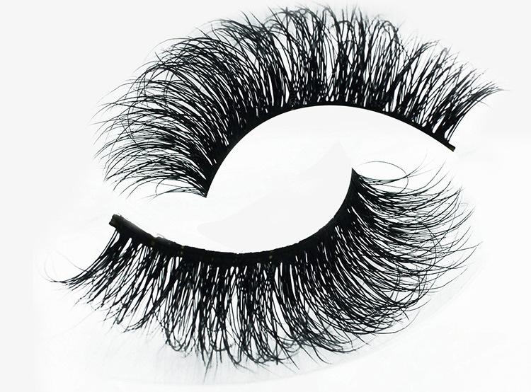 3D Multi-Layer Natural Hair Hand Made Eyelashes Soft False Eyelashes