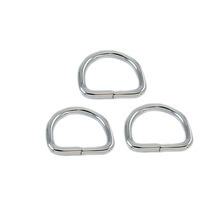 Fashion High Quality Metal Nickel Steel 35mm D Ring