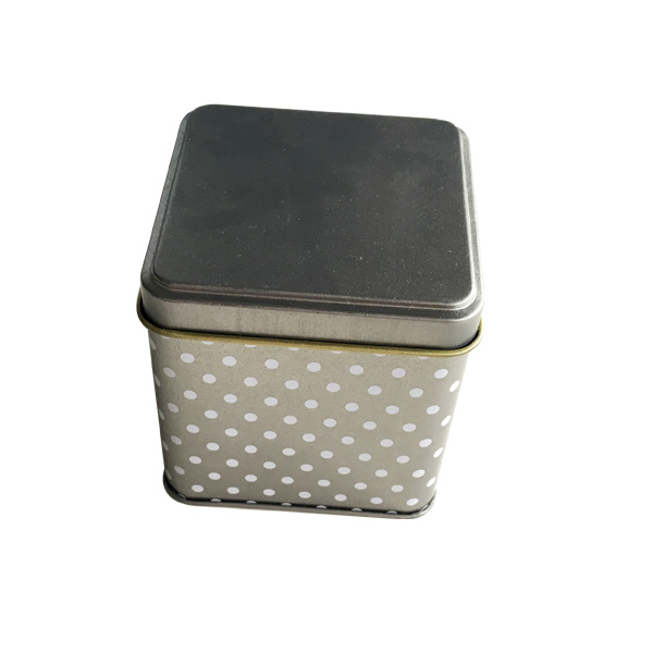 Square Custom Tin Box Food Packaging Tinpromotion Gift Wholesale