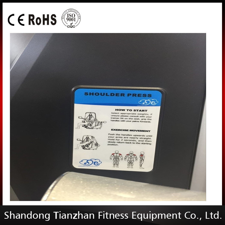 Commercial Strength Machine / Tz-8006 Back Extension / Fitness Equipment