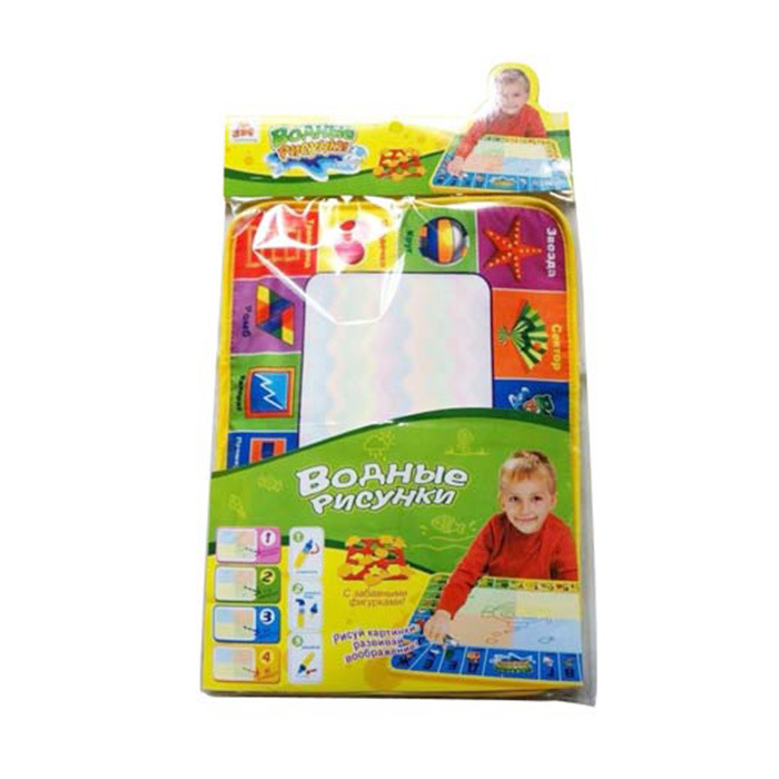 Russian Language Kids Magic Water Doodle Mat Drawing Board 10173002