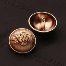 Zinc Alloy Metal Hand Sewing Button for Garment Coat Jacket