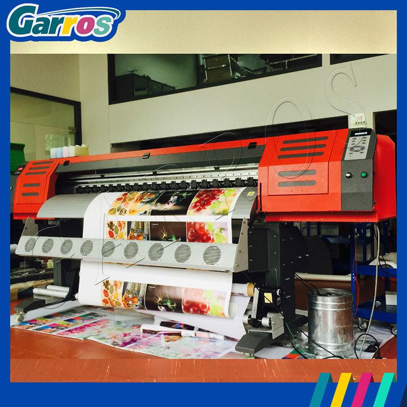 Garros 1.8m and 3.2m Best Price with 1440dpi Digital Inkjet Printer Large Format Textile Printer