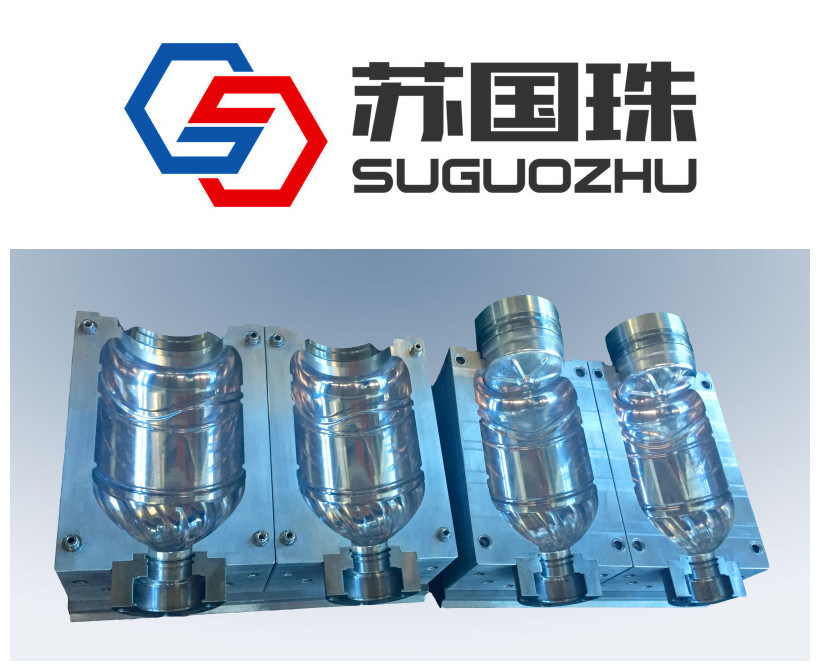 2 Cavities 5L Water Bottle Blowing Mould for Linear Machine