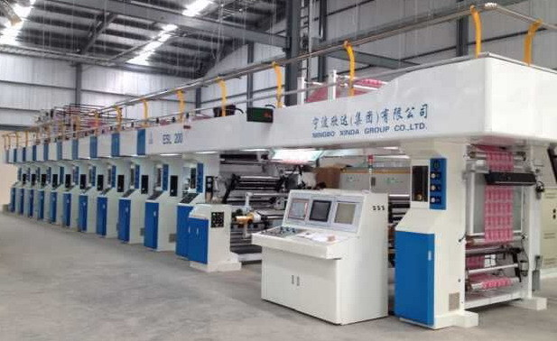 Rotogravure Printing Machine with Electronic Shaft Drive of 200m/Min