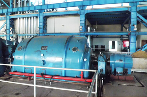 Extraction & Back Pressure Type Turbine