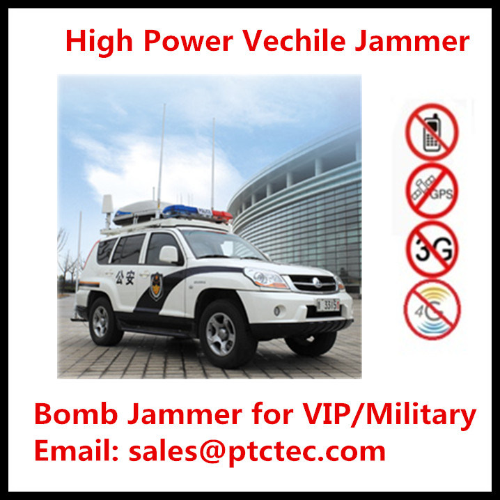 China Powerful High Power Portable Jammer Bomb Jammer Vechile Jammer for All Frequencies - China Portable Jammer, Signal Jammer